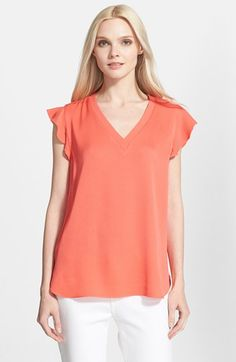 kate spade new york satin crepe top available at #Nordstrom
