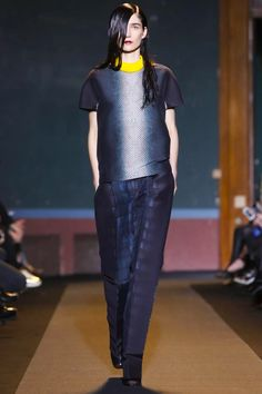 Cedric Charlier Ready To Wear Fall Winter 2014 Paris - NOWFASHION