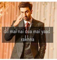 But me to ise dil me rakhungi. Boy Quotes, Film Quotes, Hindi Quotes, Bollywood Quotes, Bollywood Actors, Dear Zindagi Quotes, Famous Phrases, Romantic Shayari, Cool Lyrics