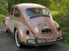 Volkswagen Beetle Vintage, Volkswagen Bus, Beetle Car, Vw Camper, My Dream Car, Dream Cars, Old Classic Cars, Vw Cars, Cute Cars