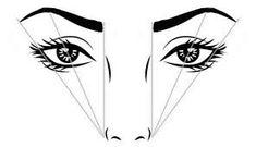 Risultati immagini per disegno viso per trucco