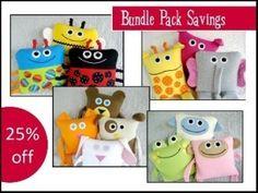 Bundle Pack: 13 Precious Pillows Patterns! | YouCanMakeThis.com