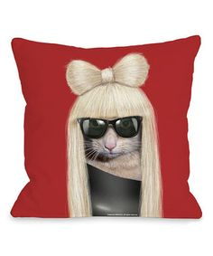 Another great find on #zulily! Pets Rock GG Throw Pillow by OneBellaCasa #zulilyfinds