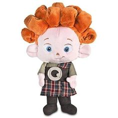 ...plush doll of one of the triplets
