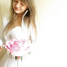 Pink beautifull GIGANT Paper Wedding Flower GIGANT  paper