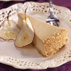 Pear & Ginger Cheesecake