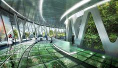 vincent callabaut architectures: agora tower, taipei, taiwan