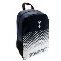 Spacious Tottenham Hotspur school bag which is not only functional but fashionable too! Ideal for carrying your essentials. FREE DELIVERY on all of our football gifts Tottenham Hotspur Football, Spurs Fans, Uk Football, Swing Tags, School Bags, Backpack Bags, Gifts, Free Delivery