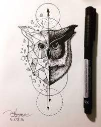 Resultado de imagem para geometric owl