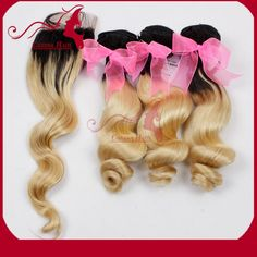 Find More Hair Weft with Closure Information about hot sale Grade 6a unprocessed factory price supply 100% virgin peruvian  two tone loose wave hair ,High Quality hair straightener european plug,China hair products wholesale prices Suppliers, Cheap hair dresser from Natural Hair Crafts Factory on Aliexpress.com