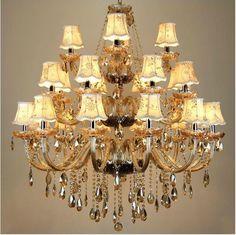 Freies Verschiffen Großer Kristallleuchter 24 Arme  Luxuskristalllichtleuchter Art  Und Weiseleuchter Kristalllicht Moderner  Großer Leuchter