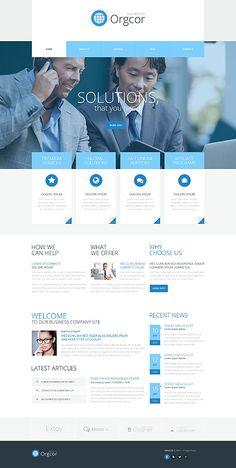 Template 51990 - Business  Responsive WordPress  Theme