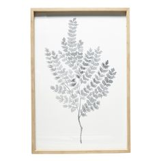 This large natural print in soft grey tones will look stunning on a mantle or wall.