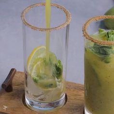 Healthy Juice Recipes, Healthy Juices, Spicy Recipes, Healthy Drinks, Cooking Recipes, Jamun Recipe, Chaat Recipe, Summer Drink Recipes, Summer Drinks