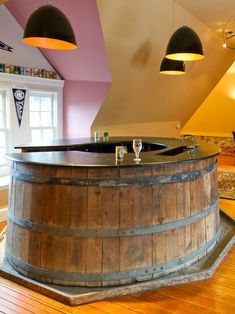 unique home basement bars designs  #KBHomes