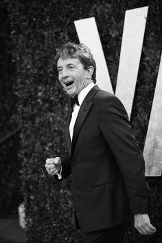 Martin Short is wonderful! Photos: The 2012 Vanity Fair Oscar Party Martin Short, Graydon Carter, Oscar Night, Hollywood, Vanity Fair Oscar Party, Party Photos, Feel Good, Famous People, In This Moment