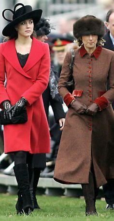 Sovereign's Parade at Sandhurst Military Academy, with Carole Middleton Carole Middleton, Kate Middleton Coat, Middleton Family, Jenny Packham, Duchess Kate, Duchess Of Cambridge, Catherine Cambridge, Stilettos, Nude Pumps