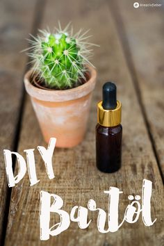 DIY Bartöl selbermachen {Kosmetik selbst herstellen} Geschenkidee für Männer: pflegendes Öl für den Bart - Tipps und Tricks zum Mischen auf Kreativfieber.de