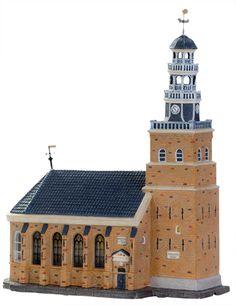De kerk van Hindeloopen is ook verkrijgbaar in Dickensville voor de Elfsteden tocht. www.kerstwereld.nl/kerstdorpen