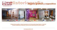 Museografía, exposiciones, museos y centros de interpretación con Grupo Axfito  Granada, Madrid, Málaga, Córdoba, Jaén  Diseño Expositivo