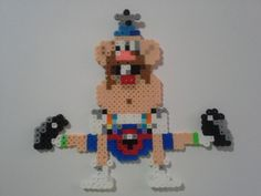 Uncle Grandpa Perler Bead art