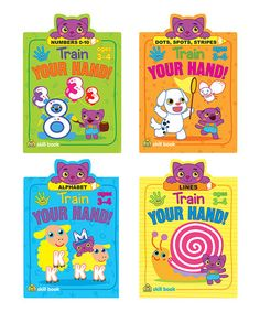 Take a look at this Train Your Hand Activity Book - Set of Four on zulily today!