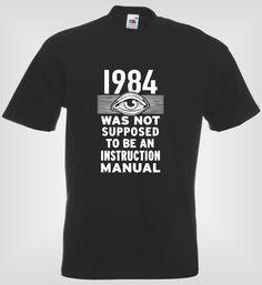 1984 Not an Instruction Manual | LoveMePrint