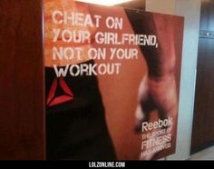 Reeboks trashy advertisement.#funny #lol #lolzonline