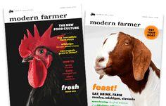 Modern Farmer - Subscribe Now! Modern Famer Mag subscription $20
