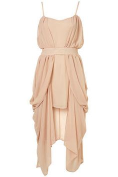 Topshop Limited Nude Drape Side Dress #TOWIE #Halloween #Christmas #Topshop #Dress