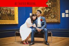 art wedding theme 3 on marry me metro a city wedding blog http://marrymemetro.com