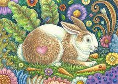 Midsummer Hare - by Susan Brack