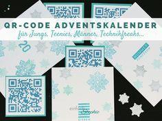 QR-Code Adventskalender für Teenager-Jungs