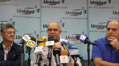 La alianza opositora llegó a un acuerdo partidista que anunciarán este lunes. J. J Rendón afirmó que CNE decretó la muerte de la MUD