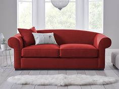 Gideon Sofa   Deep Padded Foam And Feather Cushions Create An Inviting And  Luxurious Space For