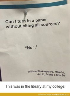 Always cite your sources - Funny, Humor, LOL, Pics The Jackson Five, Funny Quotes, Funny Memes, That's Hilarious, Top Memes, Funniest Memes, Humor Quotes, Lol, College Humor