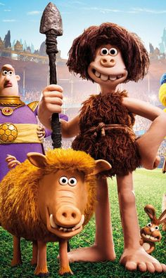 """Early Man Animation Movie HD wallpaper.  ♡  ♡  ♡ How Download: Click on each image to view larger in light box, then right click on image and select """"save image as …"""" to download image to your desktop, laptop. If you are browsing website by mobile device, please tap on image for a while (3 seconds) and then select """"save image as …"""" to download image to your mobile device."""