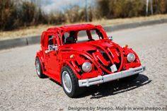 VW Beetle in LEGO Technic