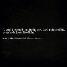 Beau Taplin | Most especially when they were not. / Insight <3