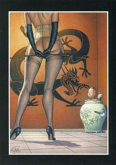 Classé dans dossier « Lotus Bleu ».      Ex-Libris Mirande - Tintin - Hommage Hergé