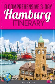 Let's check out the best things to do in Hamburg during a weekend. In this Hamburg, Germany Itinerary we'll take you on a fun tour through German's Northern pearl and discover the best things to see in Hamburg. #Vickiviaja Backpacking Europe, Europe Travel Guide, Travel Guides, Ultimate Travel, Travel Information, Beautiful Places To Visit, Germany Travel, Plan Your Trip, Night Life