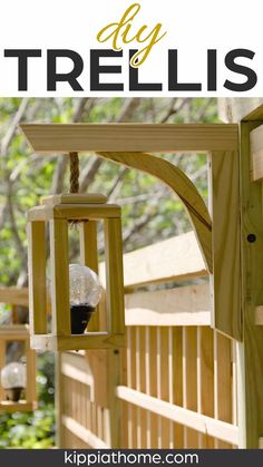 Flower Trellis, Vine Trellis, Trellis Fence, Trellis For Privacy, Wood Privacy Fence, Lighting For Gardens, Outdoor Lighting, Garden Sink, Diy Garden Fence