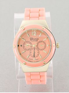 P.S. I Love You More Boutique | Timeless Peach Watch | Summer Fashion 2014 www.psiloveyoumoreboutique.com