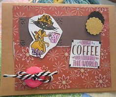 Splitcoaststampers FOOGallery - IC604 Cat Coffee