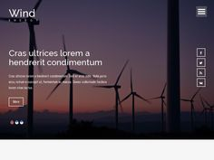 Шаблон промышленной индустрии, HTML разметка Bootstrap 3, параллакс эффект, слайдер, галерея фото, всё на одной странице.