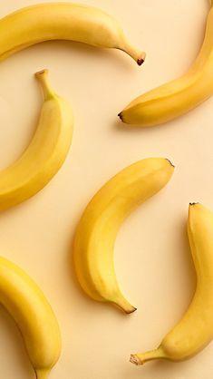 Banana fruit food wallpaper for phone