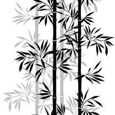 bamboo silhouette clip art bamboo clipart image. Black Bedroom Furniture Sets. Home Design Ideas