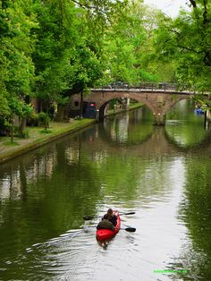 Visit Utrecht, a very under-rated city but which is bursting with charm.