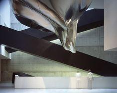 Centro de Arte Contemporáneo Rosenthal en Cincinnati.. Obras de Zaha Hadid