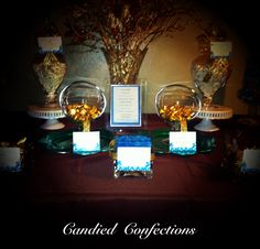 Sneak peek of our enchanted fall buffet by candied confections